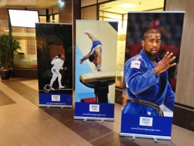Rollup 85x200 France Olympique